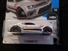 HW HOT WHEELS 2017 HW CAMARO FIFTY #2/5 '16 CAMARO SS  SILVER HOTWHEELS