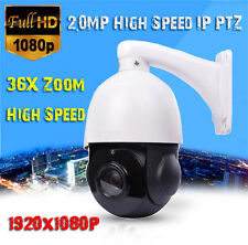"36X Optical Zoom 2MP 1080P 4"" MINI IP PTZ High Speed Dome Camera ONVIF Network O"