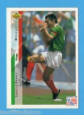 Figurina/CARDS-UPPER DECK 94 -WC USA 94- n.21- AMBRIZ - MESSICO