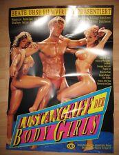 Lustangriff der Bodygirls - KINOPLAKAT A1 -  Hyapatia Lee & Desiree Lane