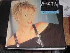"LP 12""  MAXI 45 AGNETHA FALTSKOG (ABBA) THE LAST TIME GERMANY 1987 EX++/N-MINT"