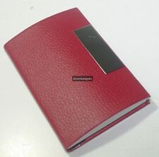 PU Leather Design Magnetic Business Card, Credit Card, Name Card Holder(Maroon)