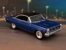 1967 67 FORD FAIRLANE 500 XL 1/64 SCALE DIECAST COLLECTIBLE MODEL - DIORAMA