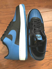 Nike AIR FORCE 1 Black Star Blue White 820266-010 Basketball Shoes Sneakers 12