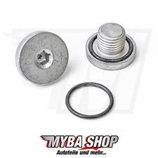 1x Ölablassschraube verschluss Schrauben inkl. Dichtring für Opel Fiat Saab #NEU