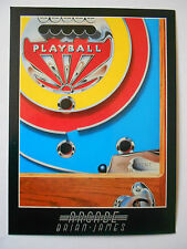 ARCADE' COLLECTORS POSTCARD-PLAYBALL BY BRIAN JAMES