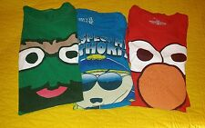 LOT of 3 Graphic M Shirt tshirt tee south park cartman elmo oscar the grouch men