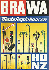 CATALOGUE BRAWA 1981 - HO + N - FASCICULE EN ALLEMAND