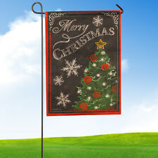 Garden Flag Indoor Outdoor Home Decor Christmas Winter Snowflake Flag G Newest