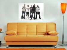 "SEVENDUST 35""X25"" MOSAIC WALL POSTER HEAVY METAL LAJON WITHERSPOON"
