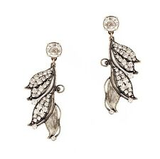 Fashion Boho Bronze Leaf Ethnic Dangler Drop Hook Earrings Ladies Statement Gift
