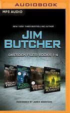The Dresden Files: Jim Butcher - Dresden Files: Books 1-4 : Storm Front, Fool...
