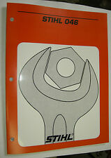 046 Stihl Chainsaw Complete Service Workshop Repair Manual New#4