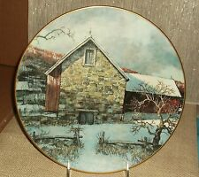 Royal Doulton Eric Sloane Pennsylvania Pastorale Porcelain Plate Gentle Use