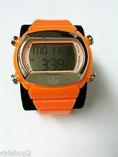 (M) MENS ADIDAS CANDY ORANGE DIGITAL WATCH ADH1567 PRE-OWNED WORKING BATTERY
