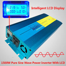 1500W / 3000W Peak Pure Sine Wave power inverter DC 12V TO AC 220V - 240V
