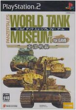 Used PS2 Panzertales World Tank Museum for Game Japan Import (Free Shipping)