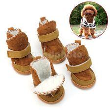 Nieve Botas Zapatos Accesorio Cálido para Patas de Mascota Perritos Cachorritos