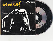 CD CARDSLEEVE  JEAN LOUIS MURAT 2T COURS DIRE AUX HOMMES FAIBLES DE 1992 RARE !!