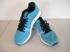 Men's Reebok Classic UL 6000 athletic, cage running shoes, neon blue, size 9D