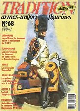 TRADITION  N°68 OFFICIERS DE HUSSARDS 1812 / SABRETACHES DE HUSSARDS / ROUSSELOT