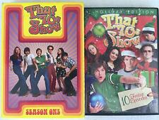 That 70's Show DVD Lot - Season One & Holiday Edition w/ 10 Festive Episodes