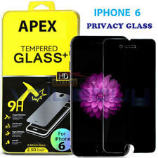 "Anti-Spy Peeping Privacy Tempered Glass Screen Protector for Apple 4.7"" iPhone 6"