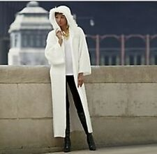 Women's winter fall long heavy Sweater coat jacket Cardigan tag L& fit XL $200