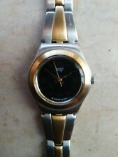 "orologio swatch IRONY LADY LADY modello ""GOLDEN CARPET"" YSS160G anno 2004 USATO"