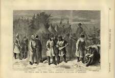 1876 Russian Army In Winter Quarters At The Camp Of Kichineff