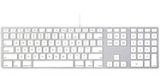 Genuine Apple Wired Keyboard with Numeric Keypad (MB110LL/B) - A1243 - VG