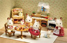 CALICO CRITTERS #CC2267 Deluxe Kitchen Set - New Factory Sealed - Sylvanian Fam
