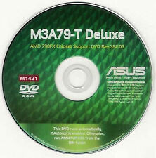 ASUS M3A79-T DELUXE Motherboard Drivers Installation Disk M1421