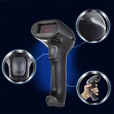 433MHz Wireless Laser Barcode Scanner Reader Memory Up To 500M Distance BE