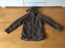 JACK WOLFSKIN WOMAN URBAN OUTDOOR SUPERWARM WINTERJACKE BRAUN GR. XS / 34-36 TOP