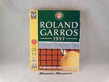 ROLAND GARROS 1997 TENNIS PC COMPUTER BIG BOX EDIZIONE CARTONATA ITALIANA NUOVO