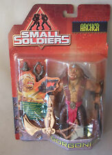 Vtg 90s Hasbro Action Figur Gorgonites ARCHER Small Soldiers OVP