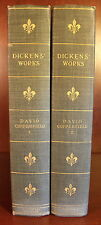 Charles Dickens David Copperfield 1899 Limited Edition 2 Vol Set British Lit