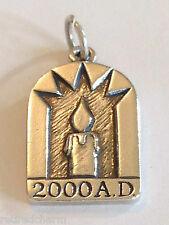 ❤️RETIRED JAMES AVERY 2000 A.D. CHARM 2nd MILLENNIUM CANDLE ~WHERE WERE U? BOX❤️