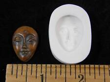 Goddess Face (Med) Polymer Clay Mold (#MD1361)