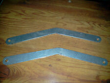 Pair of homemade twin Cessna landing gear rigging tools