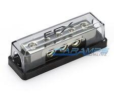 EFX CAR STEREO PLATINUM NICKEL 0 TO 4 GAUGE POWER / GROUND DISTRIBUTION BLOCK