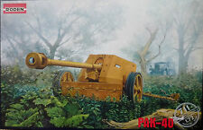 RODEN 1:72 GERMAN WW11 ANTI-TANK GUN PAK-40