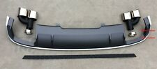 S4 Style Rear Diffuser With Exhaust Tips 2016 Audi S4 A4 Base Sedan