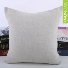"Home Decorative 15"" Throw Pillow Case Sofa Seat back Cushion Cover vintage Gray"