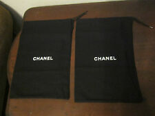 Chanel Draw String Dust Bag Handbag/Shoes Storage Cover Lot Of 2