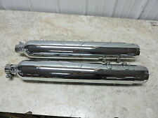 03 Harley Davidson Road King muffler pipe exhausts exhaust set right left