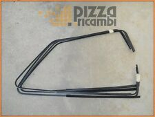 *FRP* KIT 4 PEZZI RASCHIAVETRO NERI FIAT 127 C CL  black scraper glass