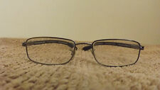 Vintage Ray Ban FRAMES Eyeglasses SILVER WITH Rubberised  TEMPLE ARMS