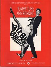"Tommy Tune & Ann Reinking  ""Bye Bye Birdie""  Souvenir Program 1991 Long Beach"